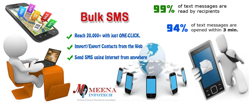Bulk SMS Services India - Meena Infotech