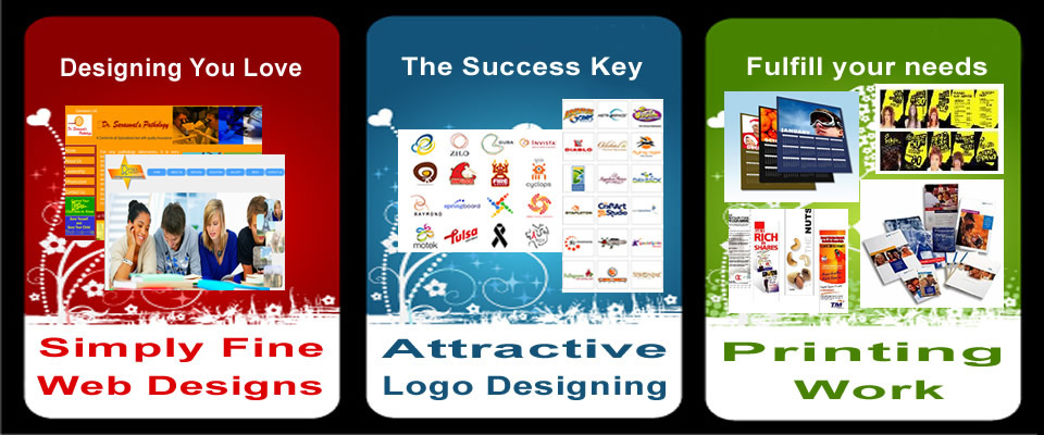 Fine Web Designs - Attractive Logo Designing - Printing Work